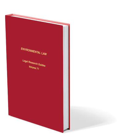 Environmental Law LRG Book Cover