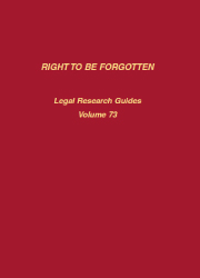 Right to be Forgotten cover